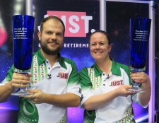 Double World Title Success for Chestney