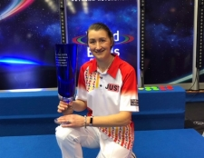 FORREST WINS FIRST LADIES SINGLE TITLE