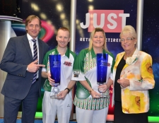 Brett & Johnstone take Mixed Pairs Title