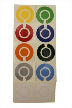 Bowls Marker Stickers