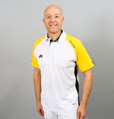 Choice of Champions Polo - White/Yellow/Black