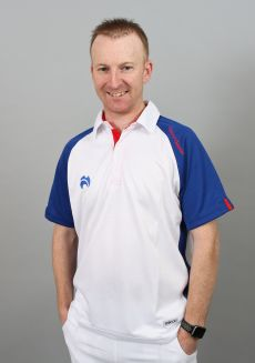 Choice of Champions Polo - White/Dark Blue/Red