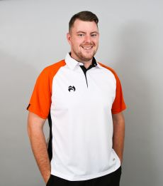Choice of Champions Polo - White/Orange/Black