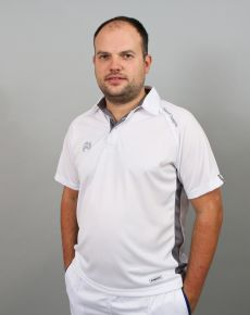 Choice of Champions Polo - White/Grey