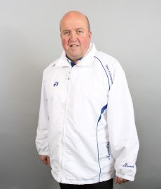 Choice of Champions Summer Jacket White/Blue Trims