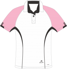 Choice of Champions Blouse (Pink-Black)