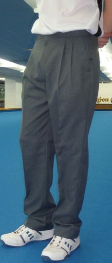 Pleated Trouser Grey