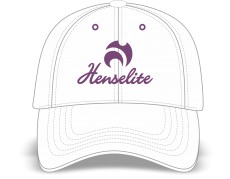 Sports Cap with Lilac Embroidery