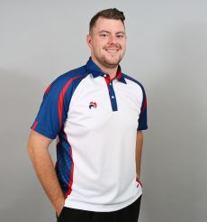 Signature Polo - White/Royal Blue/Red